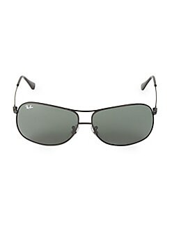 15ba295d0b4 QUICK VIEW. Ray-Ban. 64MM Wire Frame Aviator Sunglasses