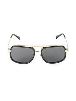 5343e03469 QUICK VIEW. Versace. 58MM Mirrored Butterfly Sunglasses