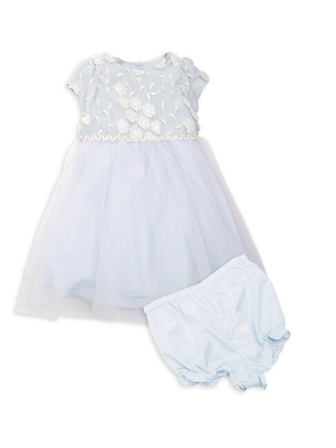 Baby Girls 2Piece Ballerina Dress  Bloomers Set