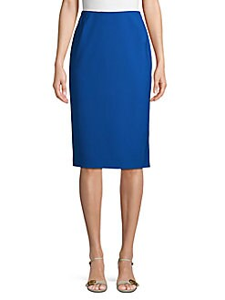 f837127daa Product image. QUICK VIEW. Lafayette 148 New York. Slim-Fit Wool Blend Pencil  Skirt