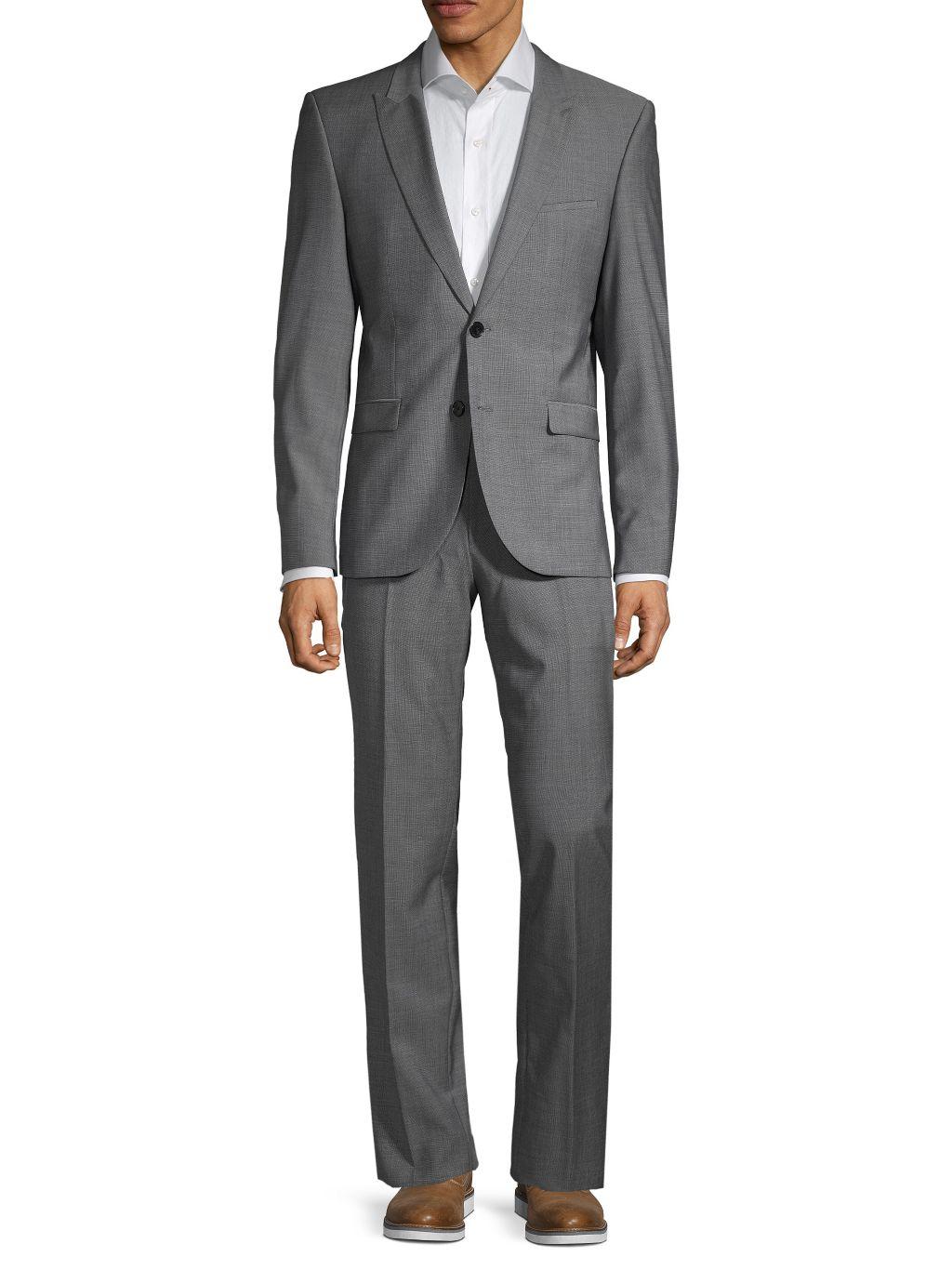 Boss Hugo Boss Astor/Hends Regular-Fit Virgin Wool Suit