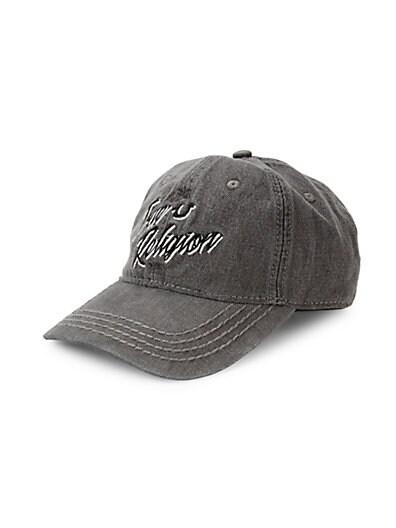 bd89ead207e24 True Religion Denim Baseball Cap ...