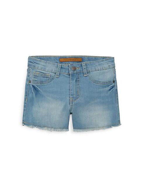 Little Girls  Girls Deena DistressedDenim Shorts