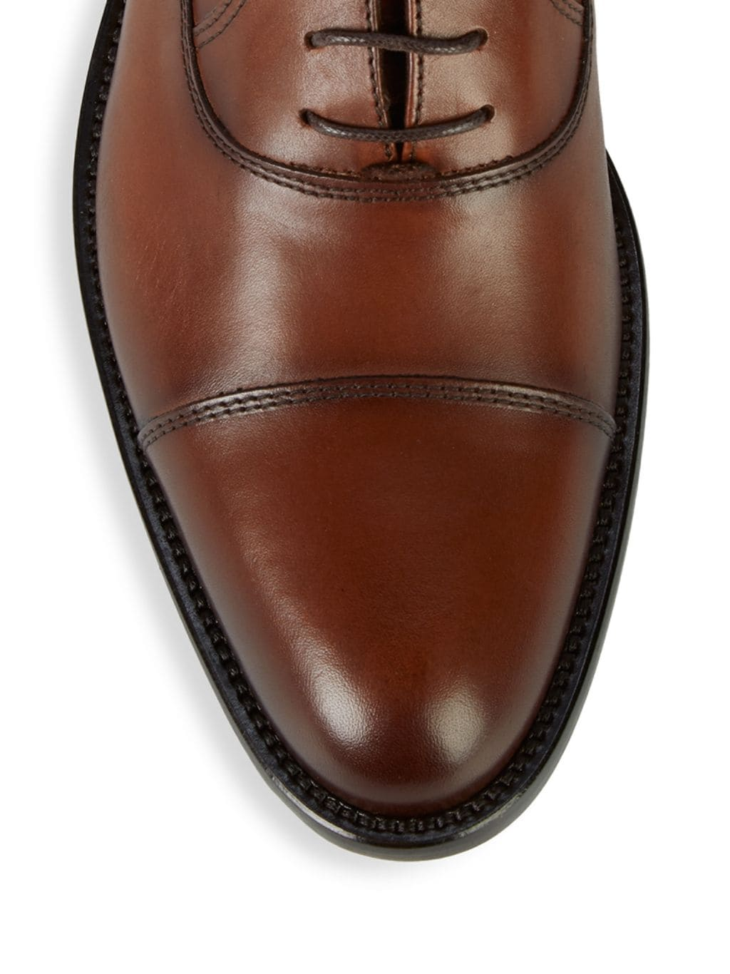 To Boot New York Jarvis Leather Cap Toe Oxfords