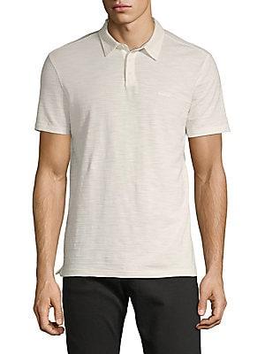 c02edde6a John Varvatos Star U.S.A. - Short-Sleeve Cotton Polo