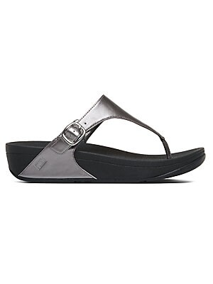6b4d7f15aecd FitFlop - Rola TM Leather Thong Sandals - saksoff5th.com