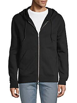 14b1b612 Product image. QUICK VIEW. J. Lindeberg. Zip-Front Cotton Hoodie