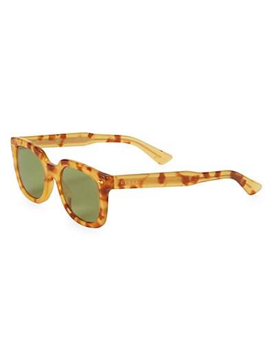 3c0756ff4fb Gucci 50MM Square Sunglasses
