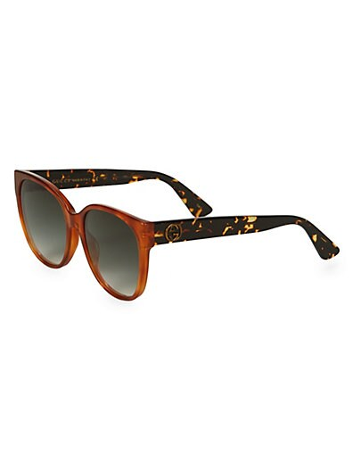 32fd2728df Gucci 56MM Solid Square Sunglasses