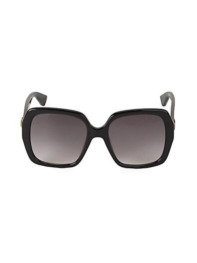 8c83d286a2784 Gucci 54MM Oversized Square Sunglasses