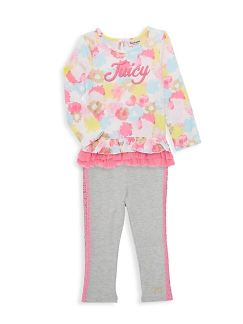 Little Girls 2Piece Tunic  Leggings Set