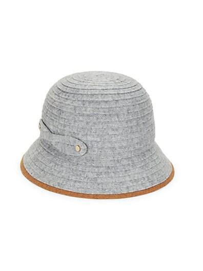 1e4b47c6228 Helen Kaminski Lule Wool-Blend Bucket Hat ...