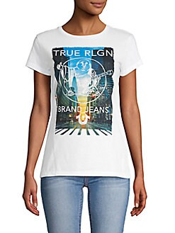 f86b93796ef27 Product image. QUICK VIEW. True Religion. Graphic Cotton Tee
