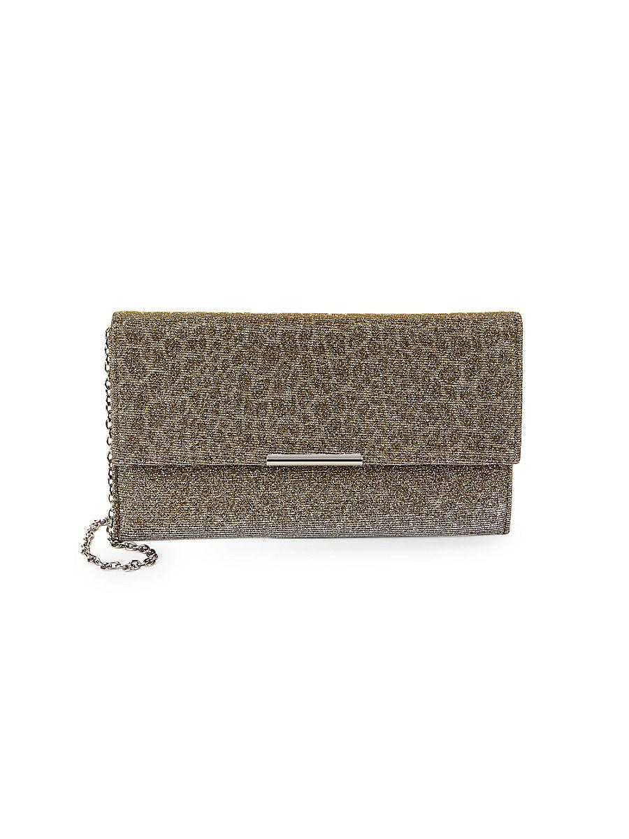 Women's Animal-Pattern Jacquard Envelope Clutch