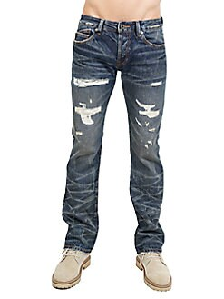 aaa09cd9f99 QUICK VIEW. Cult Of Individuality. Greaser Cotton Straight Jeans