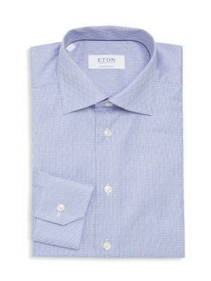 Eton  Contemporary Houndstooth Dress Shirt
