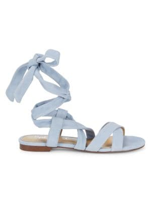 Splendid Sandals Feodora Suede Ankle-Strap Sandals