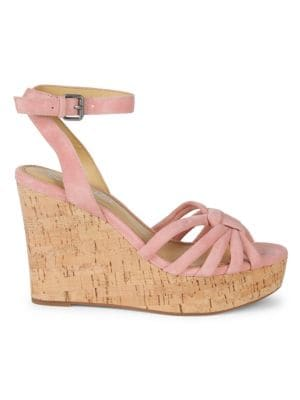 Splendid Sandals Fallon Suede Wedge Sandals