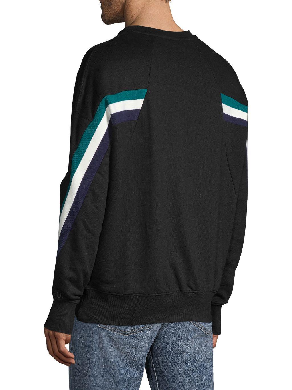 Eleven Paris Crewneck Cotton Sweatshirt