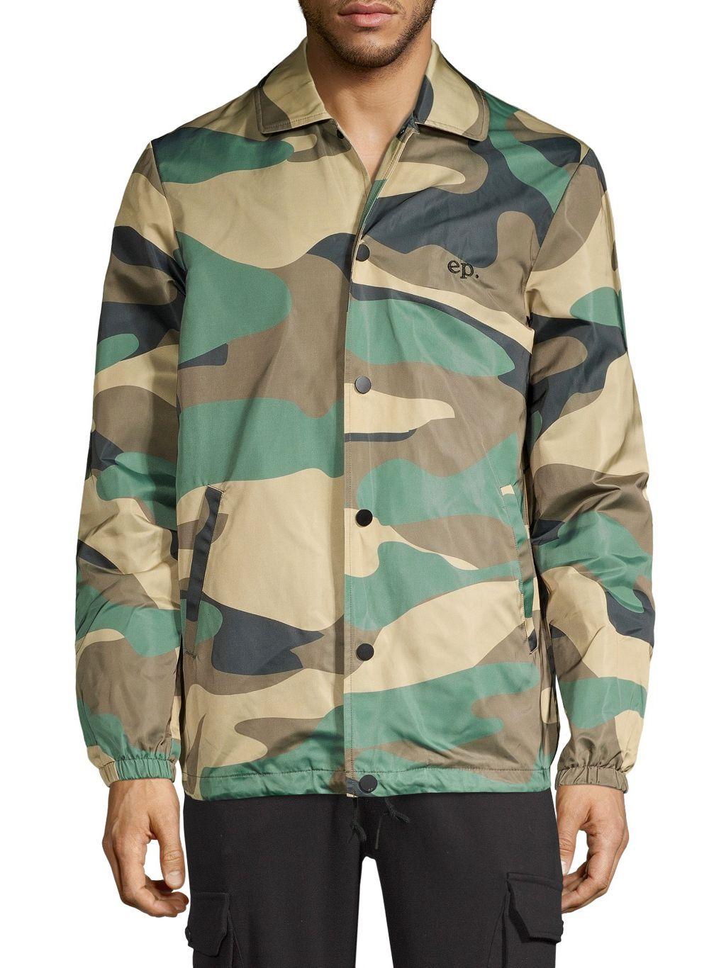 Eleven Paris Madrague Camo Jacket