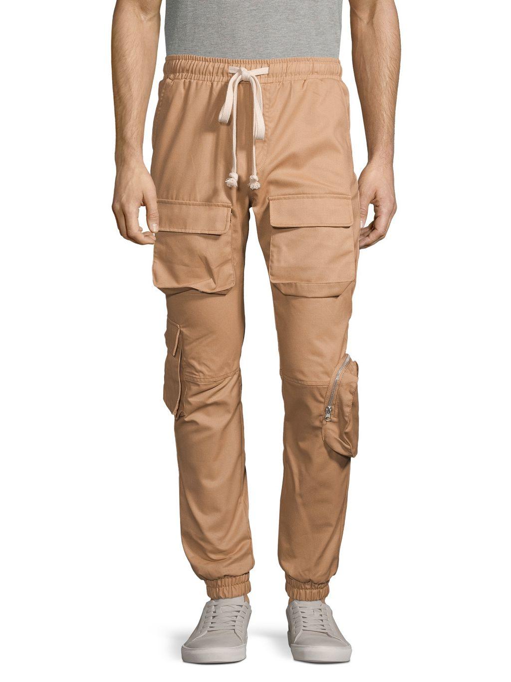 American Stitch Drawstring Cargo Pants