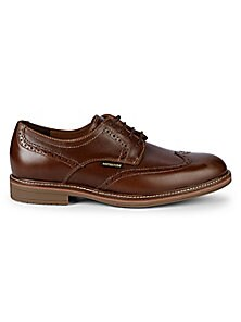 Mephisto Waldo Leather Brogues Men's Oxford (Dark Chestnut)