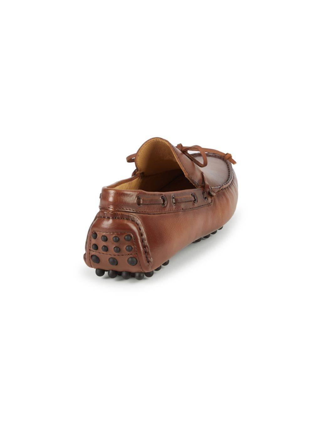 Saks Fifth Avenue Lace-Up Leather Loafers