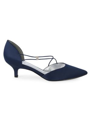 Adrianna Papell CUT-OUT EVENING PUMPS