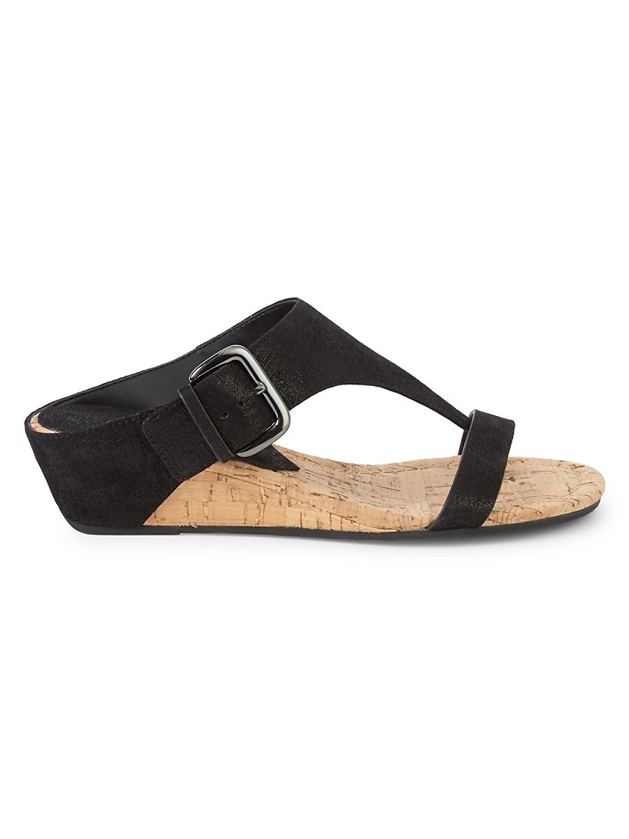 Women's Dylan Metallic Cork Wedge Sandals