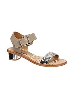 9d8199d4f Product image. QUICK VIEW. Sam Edelman. Trina Block Heeled Leather Sandals