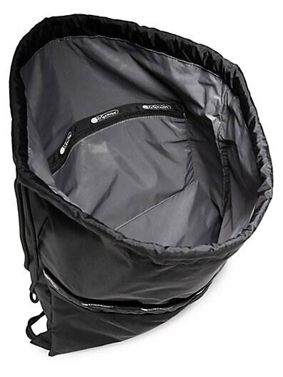 dfa21ebffb LeSportsac Janis Nylon Drawstring Backpack; LeSportsac Janis Nylon  Drawstring Backpack