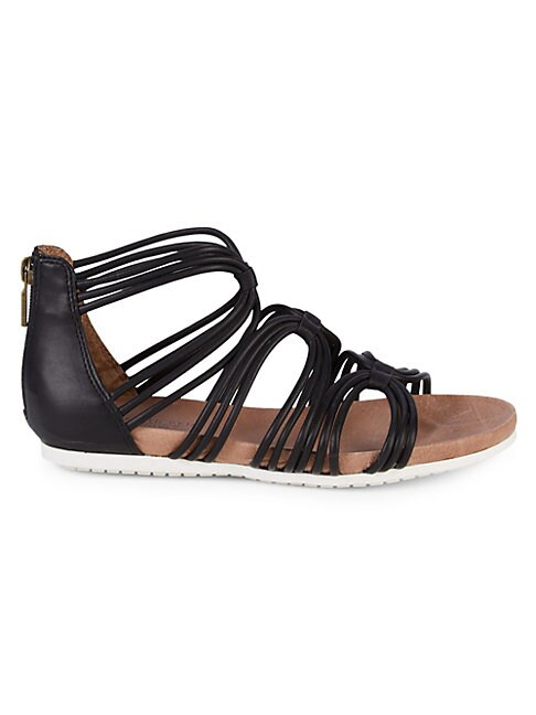 ADAM TUCKER BY ME TOO | Shana Strappy Leather Sandals | Goxip