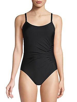 03044fea3e471 Calvin Klein - Starburst One-Piece Swimsuit - saksoff5th.com