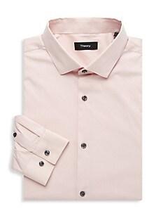 띠어리 Theory Regular-Fit Cedrick Dress Shirt,TINT