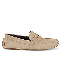 feae0a27cb1 Kelson Suede Penny Loafers DESERT BEIGE. QUICK VIEW. Product image