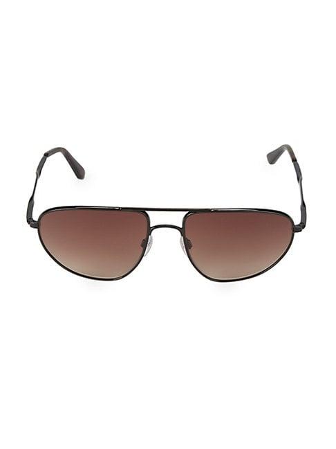 12f4950fd BALENCIAGA | 59MM Aviator Sunglasses | Goxip