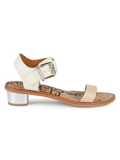 4fa8f6a4e185 Sam Edelman Classic Leather Ankle-Strap Sandals ...