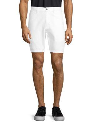 John Varvatos Shorts Classic Cotton Shorts