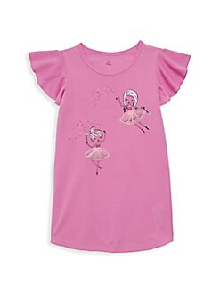 74f57a08e16da Little Girl's Fairy Twirl Nightgown PINK. QUICK VIEW. Product image