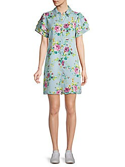 21303dcf589 QUICK VIEW. Laundry by Shelli Segal. Floral Shirtdress