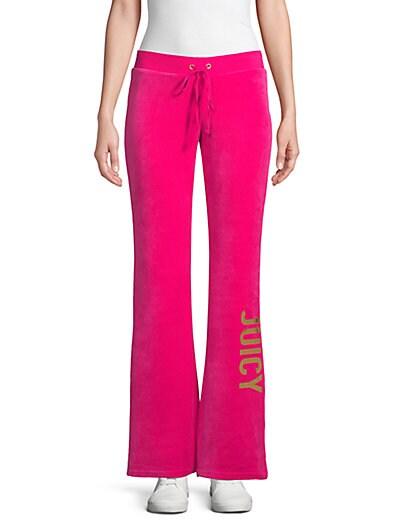 8846a101d176 Juicy Couture Logo Velour Sweatpants ...