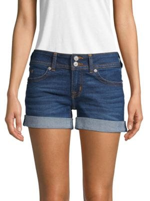 Hudson Shorts Rolled Cuff Denim Shorts