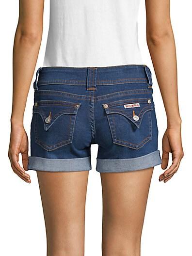 918658de024 ... Hudson Jeans Rolled Cuff Denim Shorts