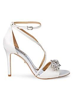 1ddd380c5 Badgley Mischka. Vanessa Embellished Sandals