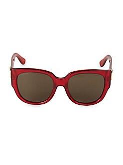 4504737eed53 Gucci. 55MM Square Sunglasses