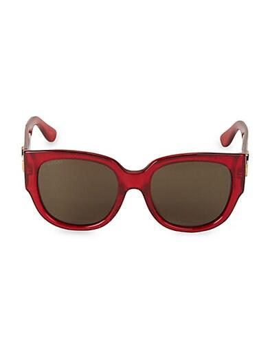 e897aad7043 Gucci 55MM Square Sunglasses