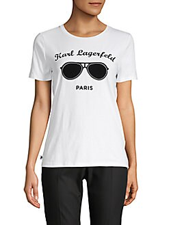 150572c47 Karl Lagerfeld Paris | Women - Apparel - Tops - T-Shirts & Tanks ...
