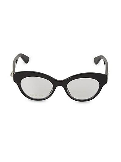3d44750927797 Gucci 49MM Cateye Optical Glasses