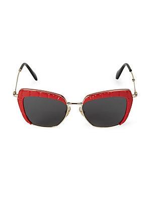c43de73eb8ae Miu Miu - 55MM Modified Cat s-Eye Sunglasses - saksoff5th.com