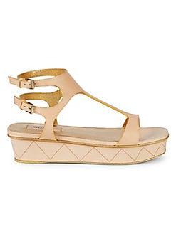 ab071824c771 Product image. QUICK VIEW. Valentino Garavani. Leather Platform Sandals